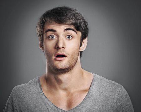 visage homme: Visage.