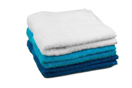 white towel: Towel.