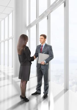 Handshake business: Business.