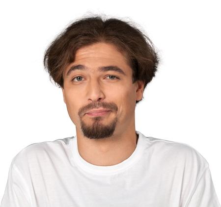 facial: Facial Expression. Stock Photo