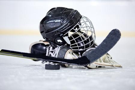 Hockey sur glace. Banque d'images - 50479391