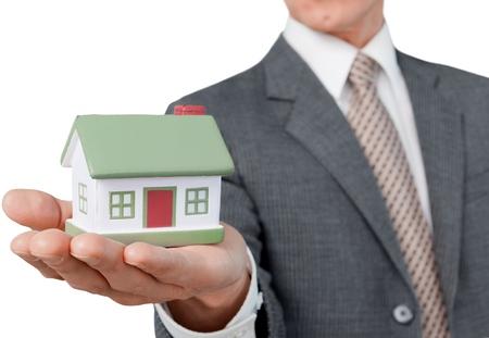 people development: Real Estate. Stock Photo