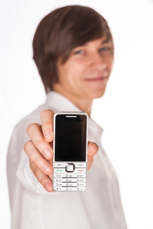cuff link: Smart Phone.