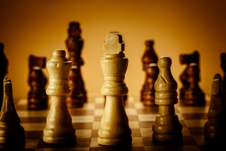 ajedrez: Ajedrez. Foto de archivo