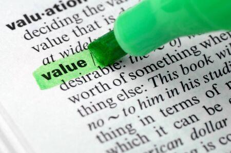 values: Value.