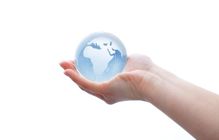 global environment: Globe. Stock Photo