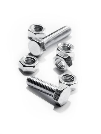 fastening objects: Bolt. Stock Photo