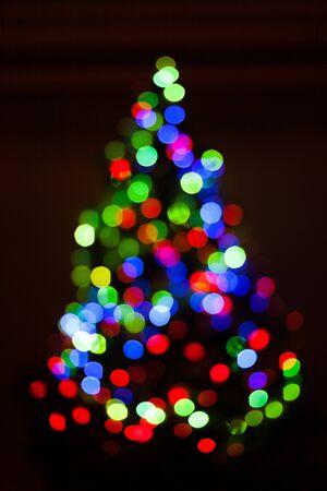 christmas isolated: Christmas Tree. Stock Photo