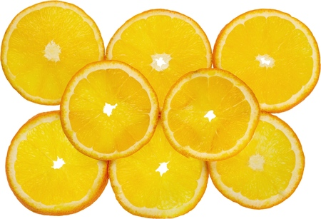saturated color: Orange. Stock Photo