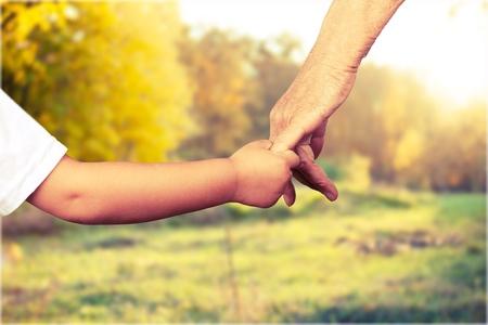 baby in hands: Children. Stock Photo