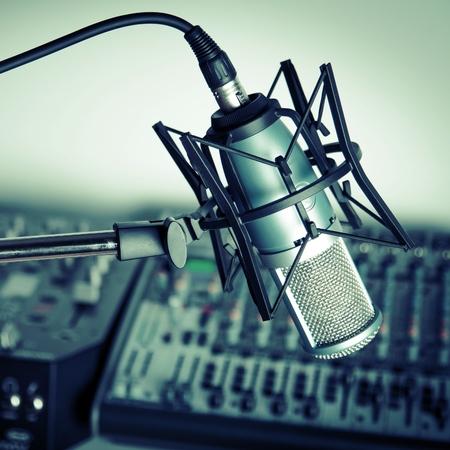 estudio de grabacion: Radio.