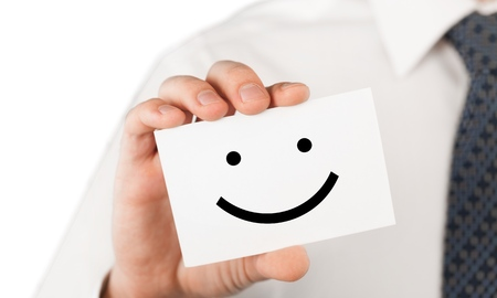 happy client: Client. Stock Photo