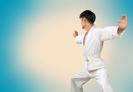 young male: Karate.