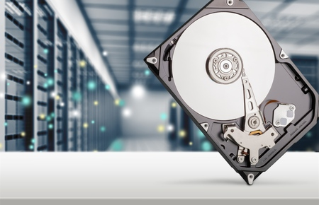 Hard Drive. Stock Photo