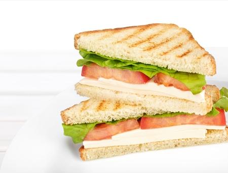 sandwich de pollo: Sandwich.