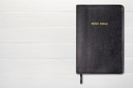 bible reading: Bible. Stock Photo