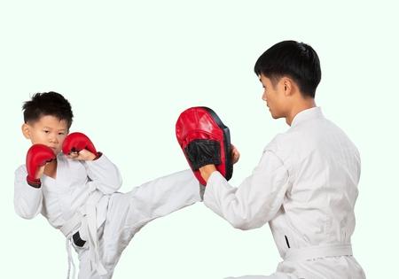 profesor alumno: Karate.