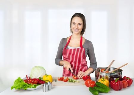 food healthy: Cooking. Stock Photo