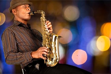Jazz. 写真素材
