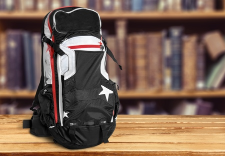 carry on: Backpack.