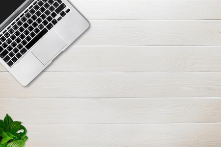 display retina: Laptop. Stock Photo