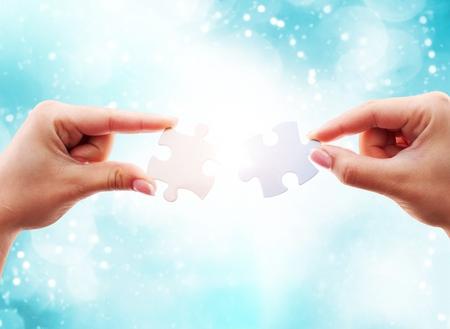 conquering adversity: Puzzle.