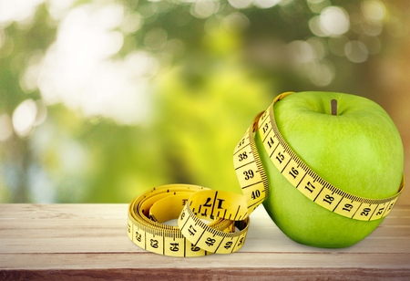 Diät. Standard-Bild