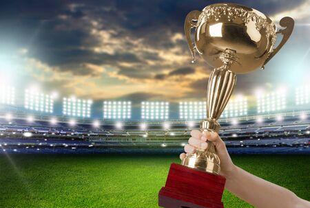 receiving: Trophy.