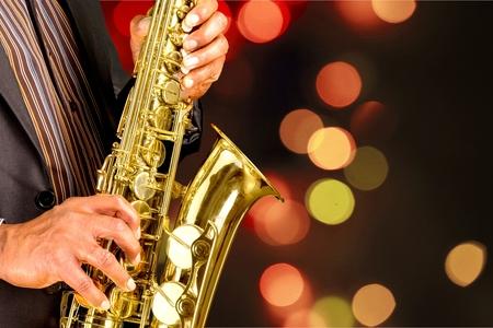 jazz musician: Jazz. Stock Photo