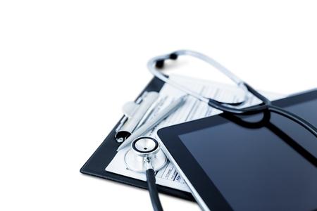 equipos medicos: Formulario. Foto de archivo
