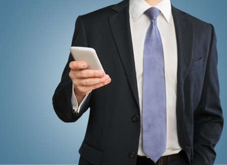 business man phone: Phone.