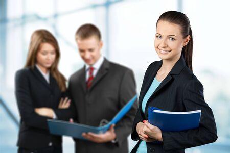 Office women: Business.