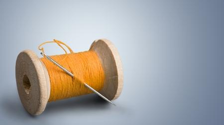 needlecraft product: Thread.