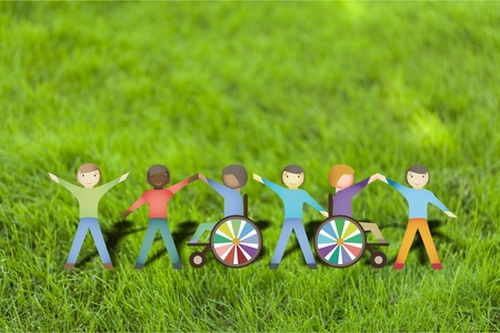 inclusion: Disabled. Stock Photo