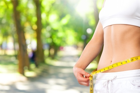 mujeres gordas: Peso. Foto de archivo