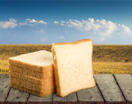 five objects: White Bread.