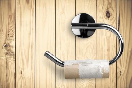 papel de baño: Papel higiénico.