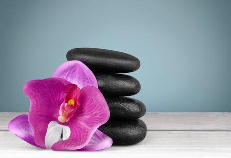 lastone therapy: Stone. Stock Photo