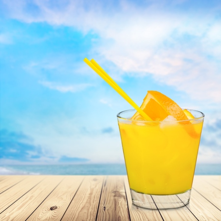 drinks after work: Juice. Stock Photo