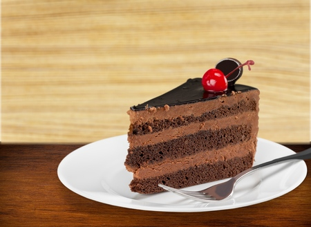 binge: Cake. Stock Photo