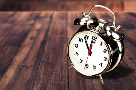 12 o'clock: Alarm Clock.