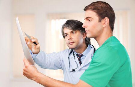 radiologist: Radiologist. Stock Photo