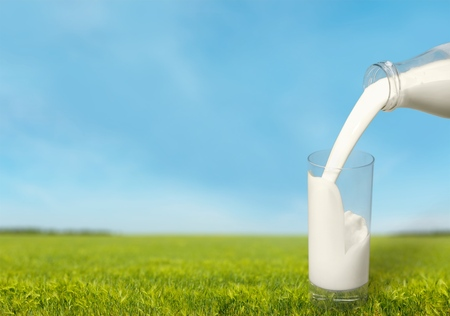 Milk. Stock Photo