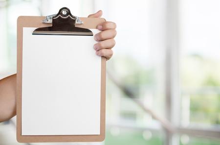 checklist: Checklist. Stock Photo