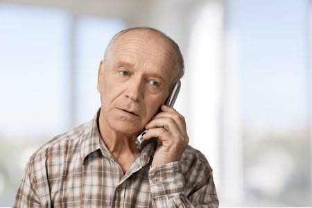 answering phone: Telephone.