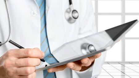 electronic organizer: Doctor.