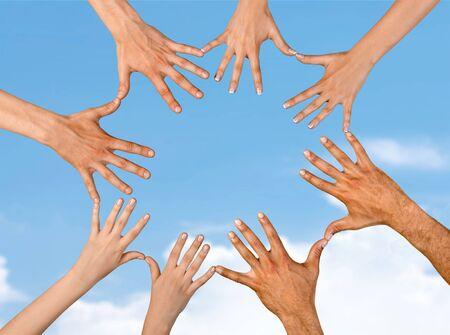 solidarity: Human Hand.