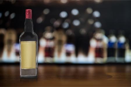liqueur labels: Bottle.