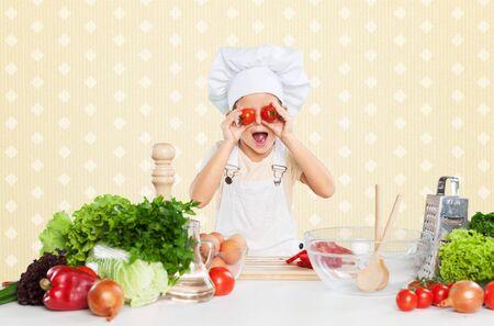 upbringing: Kitchen. Stock Photo