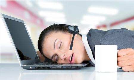 Office women: Sleeping.
